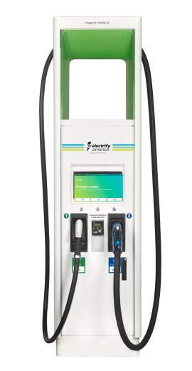 Electrify America Charger by ABB