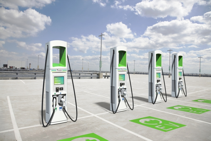 Electrify America Chargers by BTC Power
