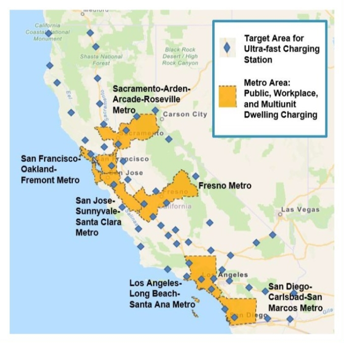 California Gets Q1 2018 Report From Electrify America Electric Revs