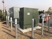 Tesla Supercharger utility transformer