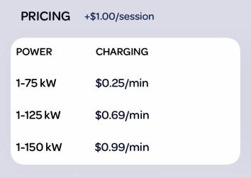 New default pricing.